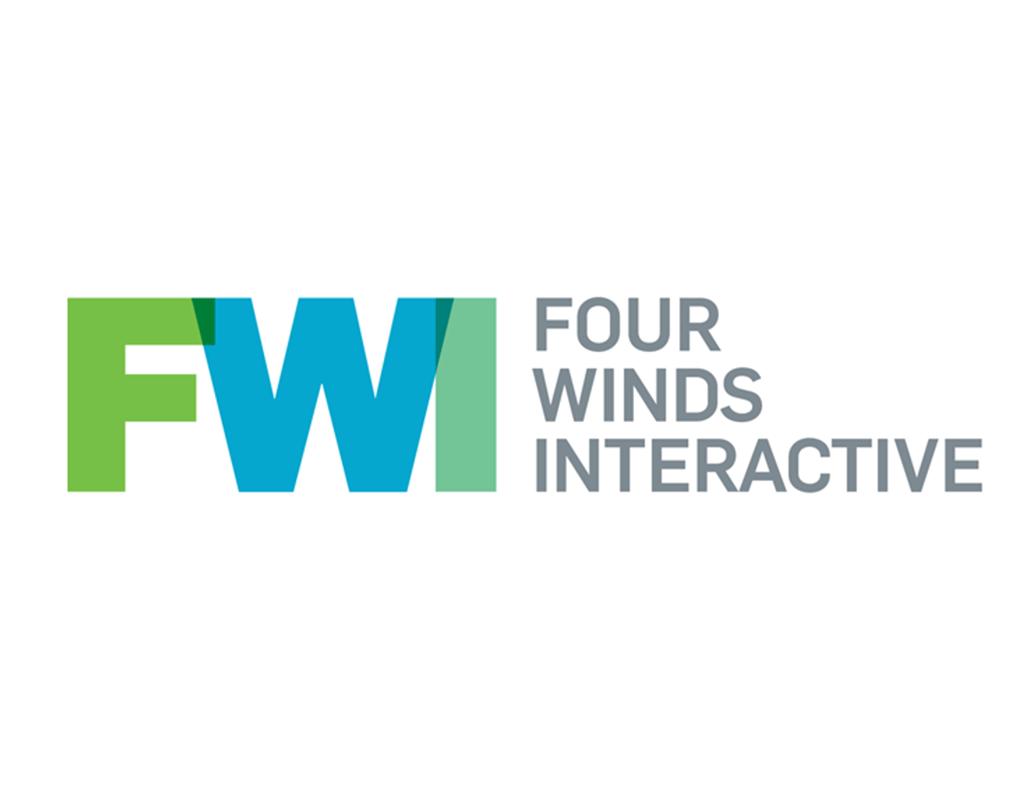 logo logiciel affichage dynamique et interactif Four Winds Interactive