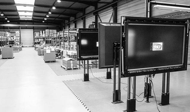 usine de production afficheurs COTEP